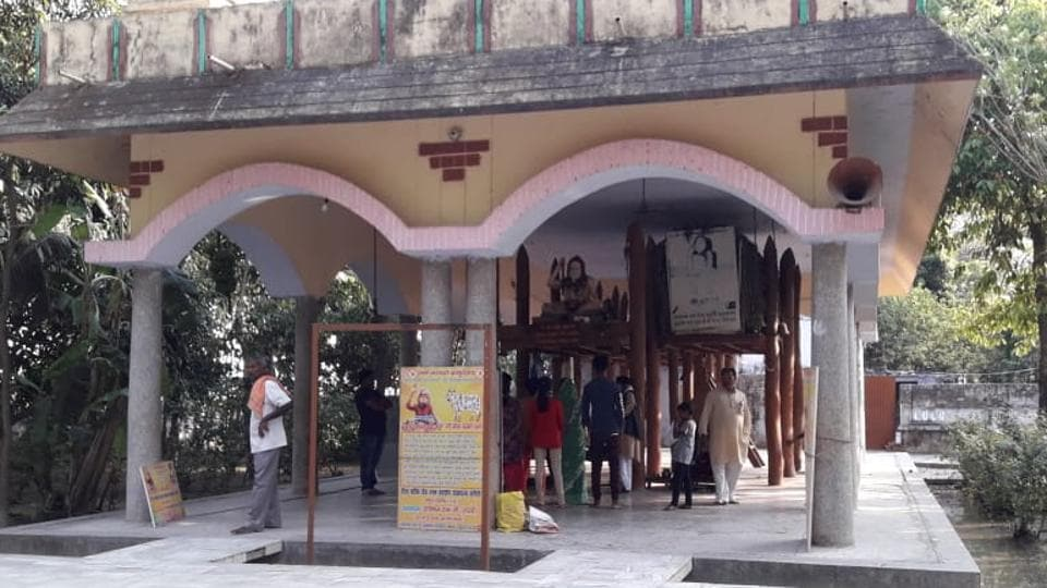 The Devraha Baba temple in Deoria.