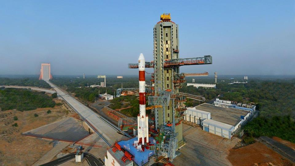 ISRO today launched a new variant of the Polar Satellite Launch Vehicle (PSLV) from Sriharikota on Monday.