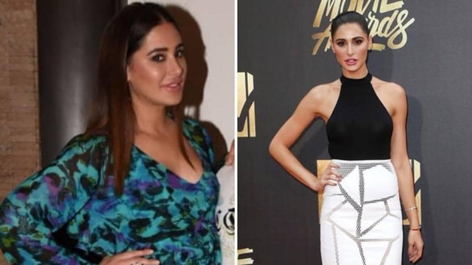 Nargis Fakhri shared a collage of her then and now pictures on Instagram.