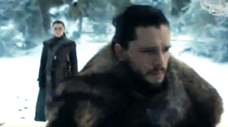 New Game Of Thrones Promos Show Jon Snow And Arya Stark S Reunion