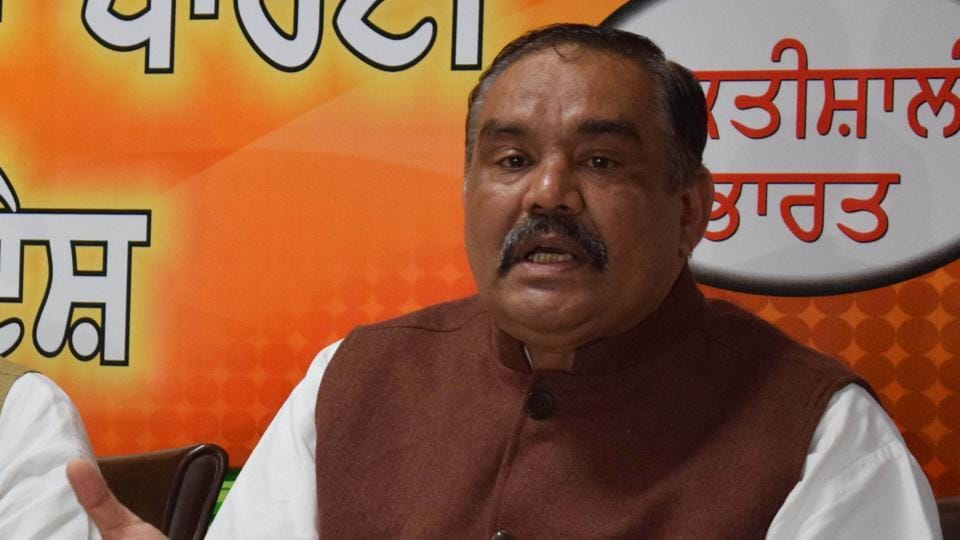 BJP leader and Union minister of state for social empowerment Vijay Sampla is the sitting member of Parliament from Hoshiarpur seat.