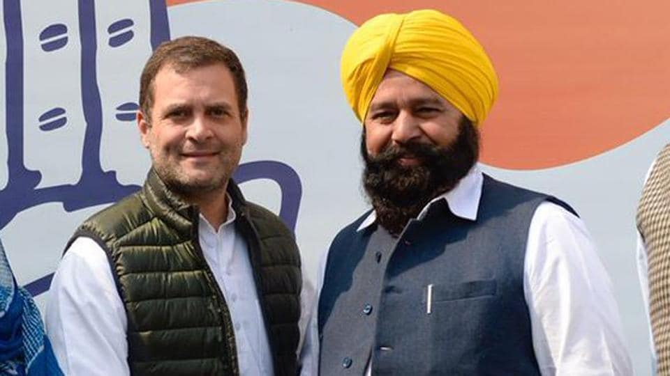 Sher Singh Ghubaya, who joined the Congress in March, held the Ferozepur seat for a decade as an Akali Dal candidate.