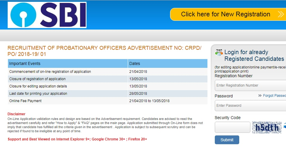 SBI PO 2019 Notification Out Today: 2000 vacancies announced.Application begins on Tuesday.
