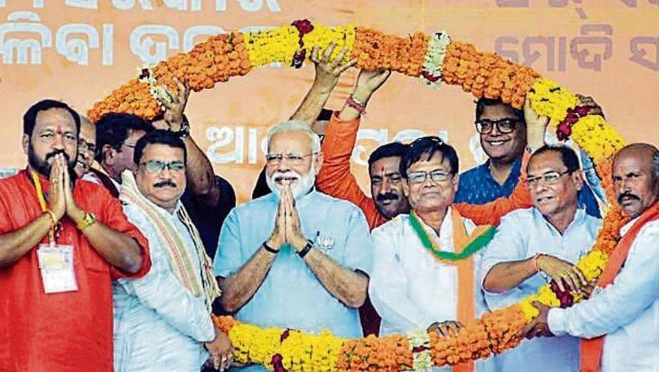 Prime Minister Narendra Modi in Odisha on Tuesday.