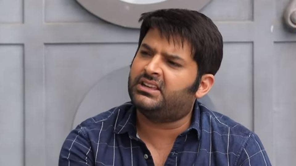 Kapil Sharma in conversation with Arbaaz Khan on his show.