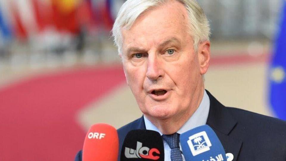 File photo of European Union's chief negotiator Michel Barnier.
