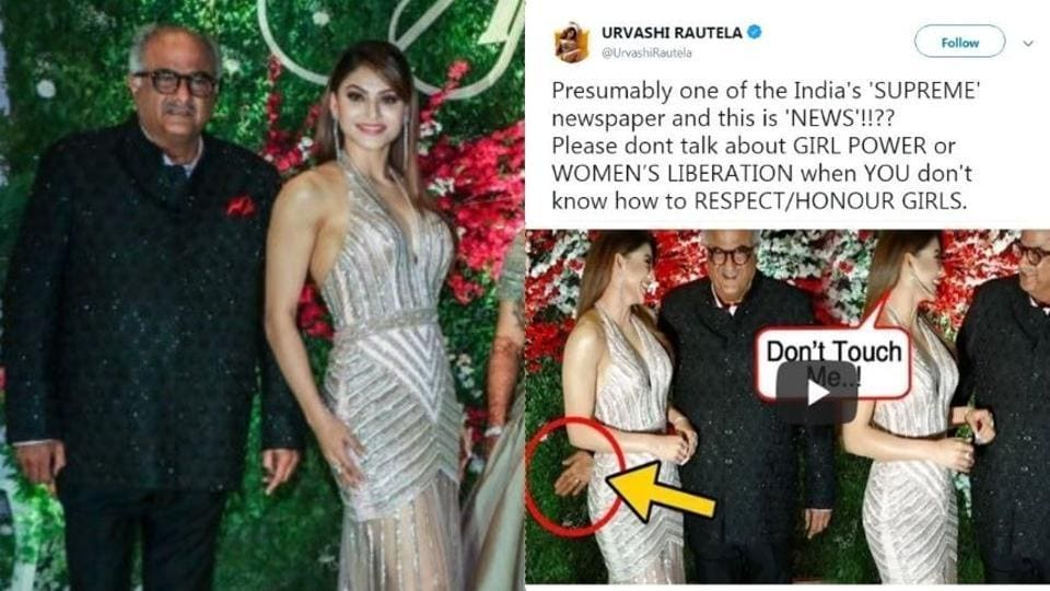Boney Kapoor and Urvashi Rautela had met at Jayantilal Gada's son Aksshay Gada's wedding bash a few days ago.