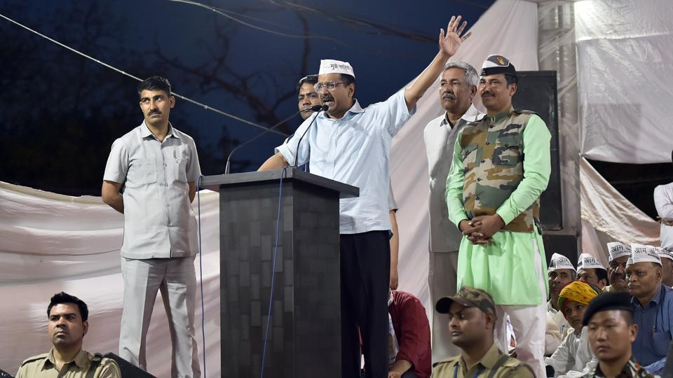 The Delhi Chief Minister  also reiterated better policing, jobs, education, healthcare and infrastructure.