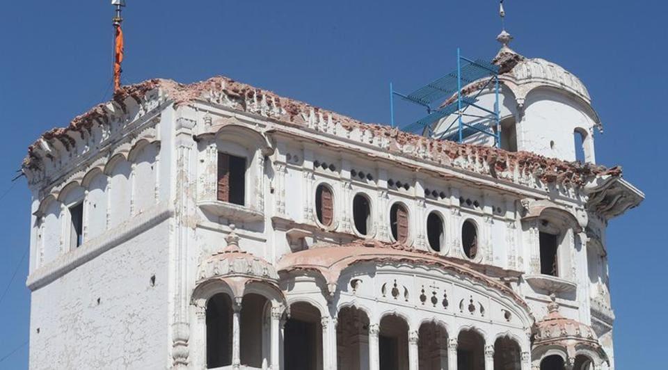The historic Deori of Darbar Sahib in Tarn Taran which was demolished by activists of Tarn Taran Kar Sewa led by Baba Jagtar Singh on March 30, 2019.