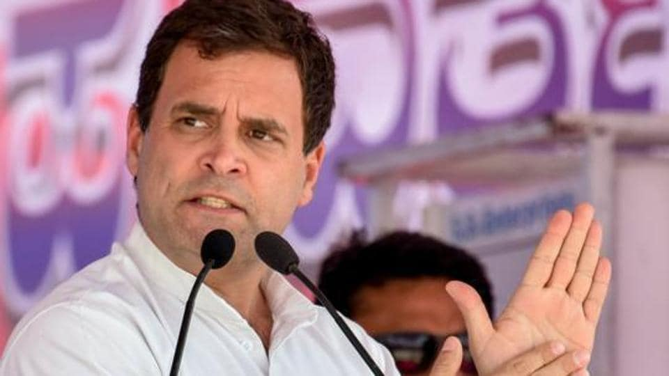 Rahul Gandhi's announcement comes a day before the Congress will release its manifesto on Tuesday for the staggered national polls that begin on April 11.