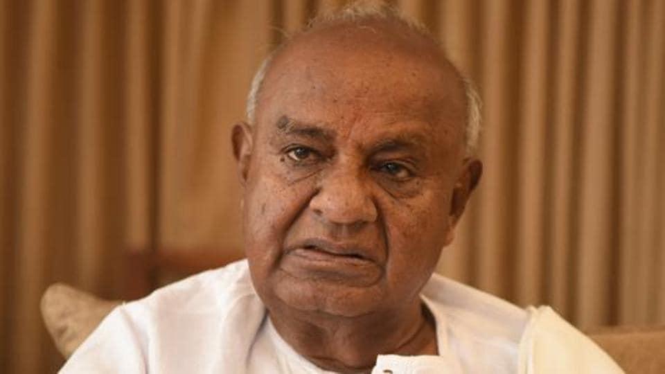 JD(S) chief HD Deve Gowda said Narendra Modi has the idea, to make this entire country a Hindu Rashtra,