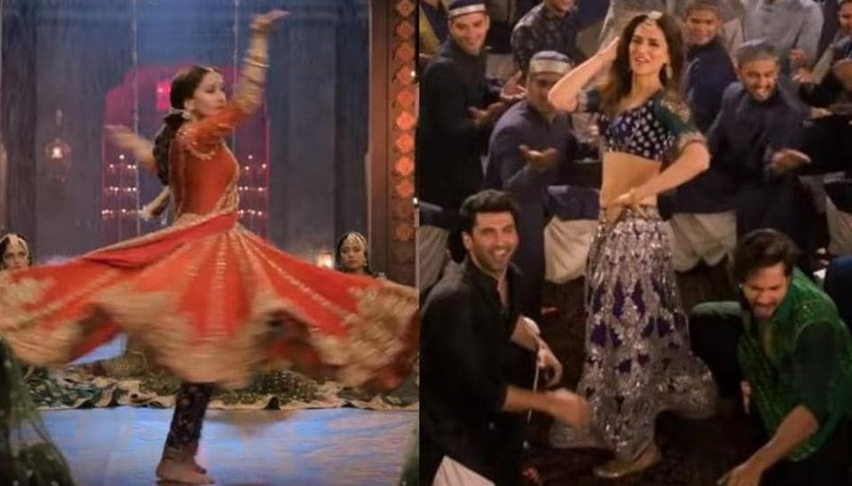 The Kalank trailer shares glimpses of Madhuri Dixit and Kriti Sanon's dance numbers.