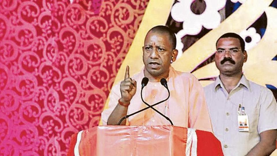 Yogi Adityanath alleged that the Congress could not eliminate poverty from the country during over five decades of its rule in the country.