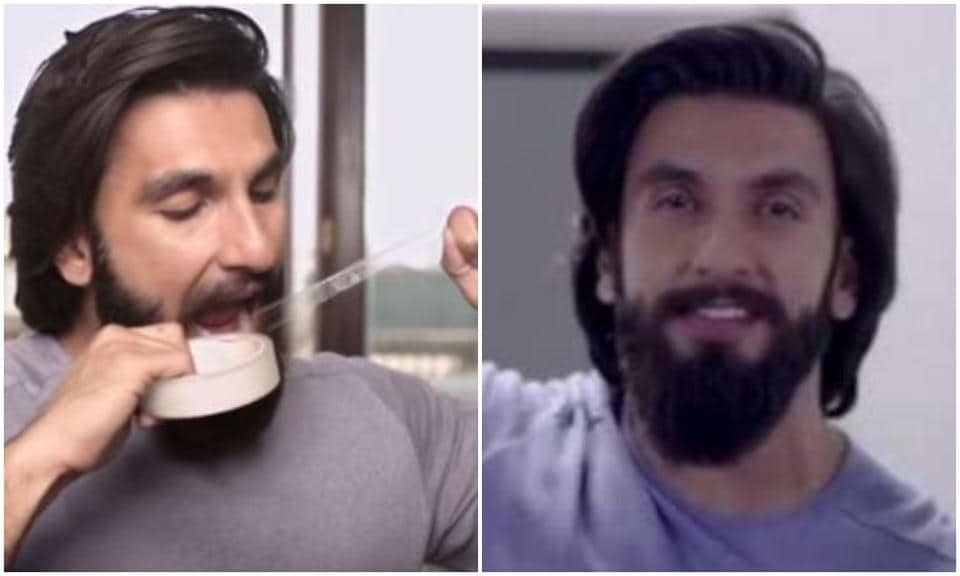 Ranveer Singh has been the face of a condom ad for the last five years.