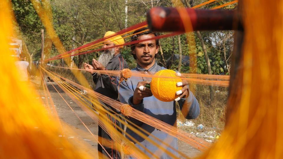 Delhi government,Delhi police,kite string ban