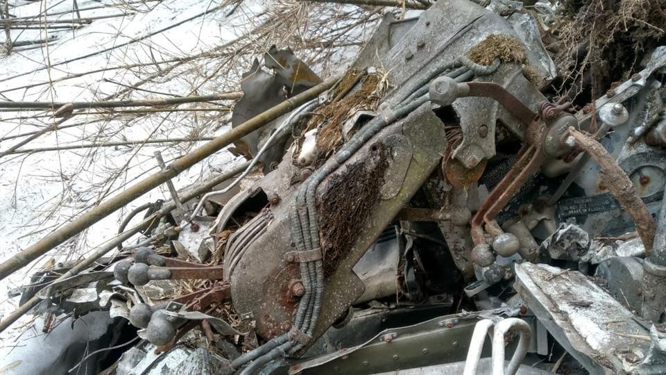 World War II,Wreckage of WW II US aircraft,Indian Army