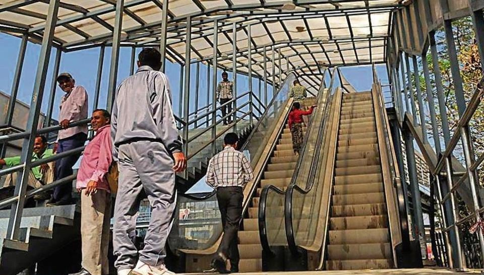 "Officials said escalators at the Iffco Chowk foot overbridge were made functional on Wednesday after ""thorough testing""."