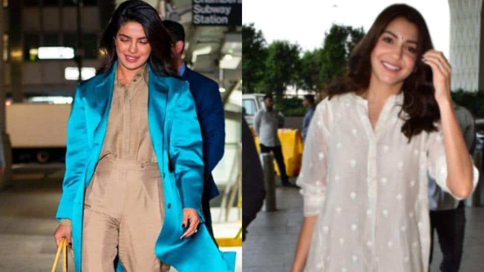 Anushka Sharma and Priyanka Chopra carrying the perfect oversized bags, big on style trends this season.