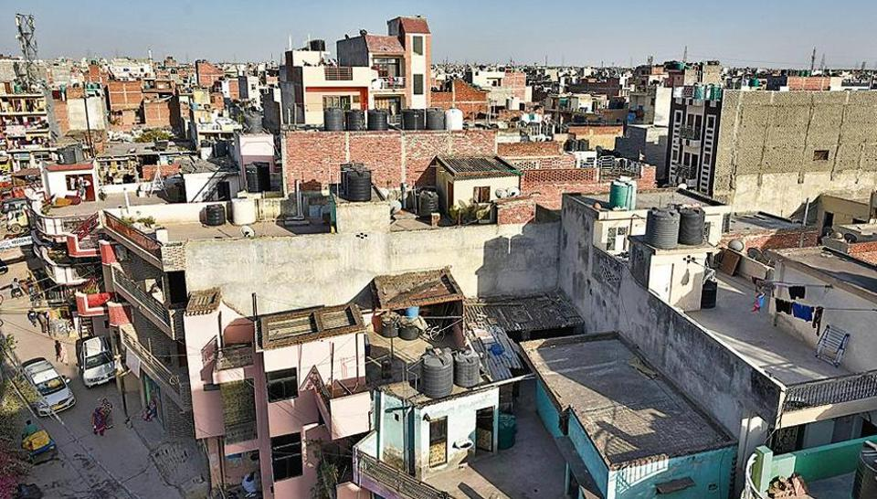 A view of south Delhi's Ambedkar Nagar. The neighbourhood still has several Dalit-dominated clusters.