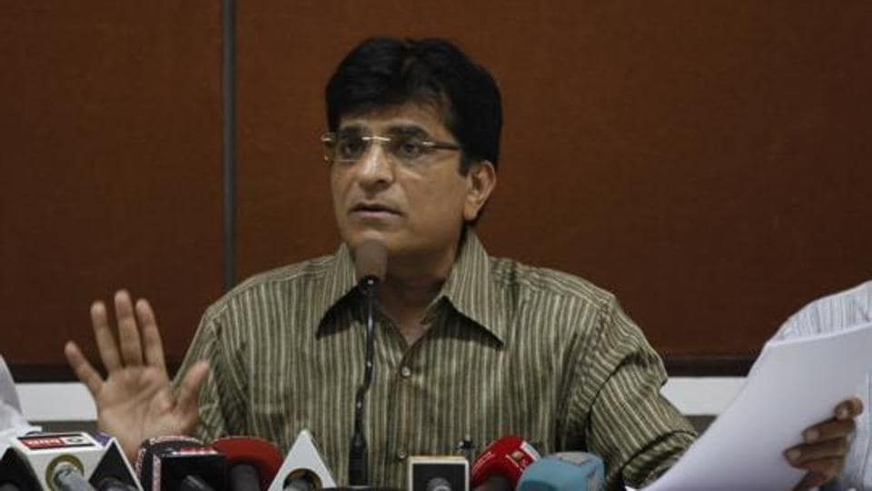 Somaiya had been at the forefront of making allegations of money-laundering against NCP leader Chhagan Bhujbal in the Maharashtra Sadan scam as well as NCP leaders Sunil Tatkare and Ajit Pawar in the irrigation scam.