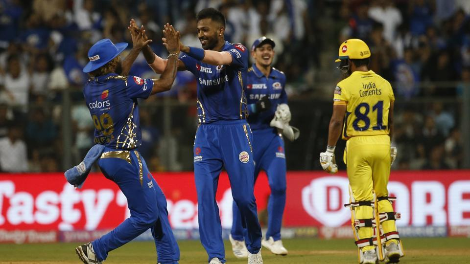 Image result for MUMBAI INDIANS 2019 IPL MATCH WINNER