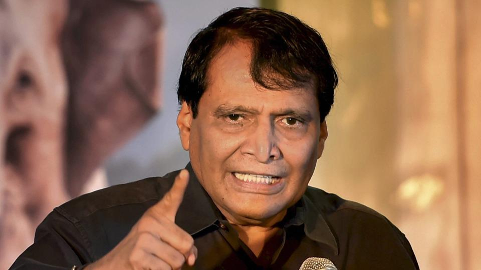 'For the first time, India's trade deficit with China has shrunk': Suresh Prabhu