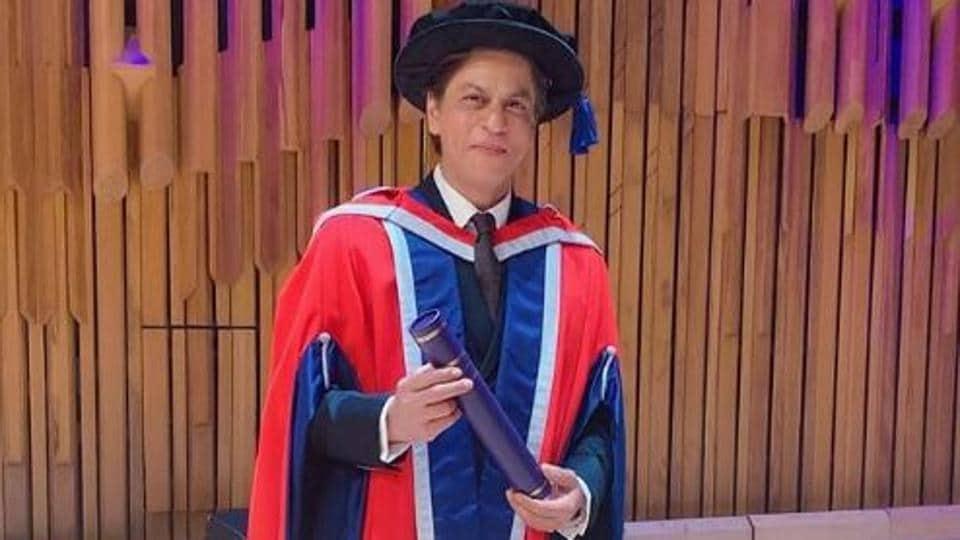 Shah Rukh Khan,Shah Rukh Khan Doctorate,University Of Law
