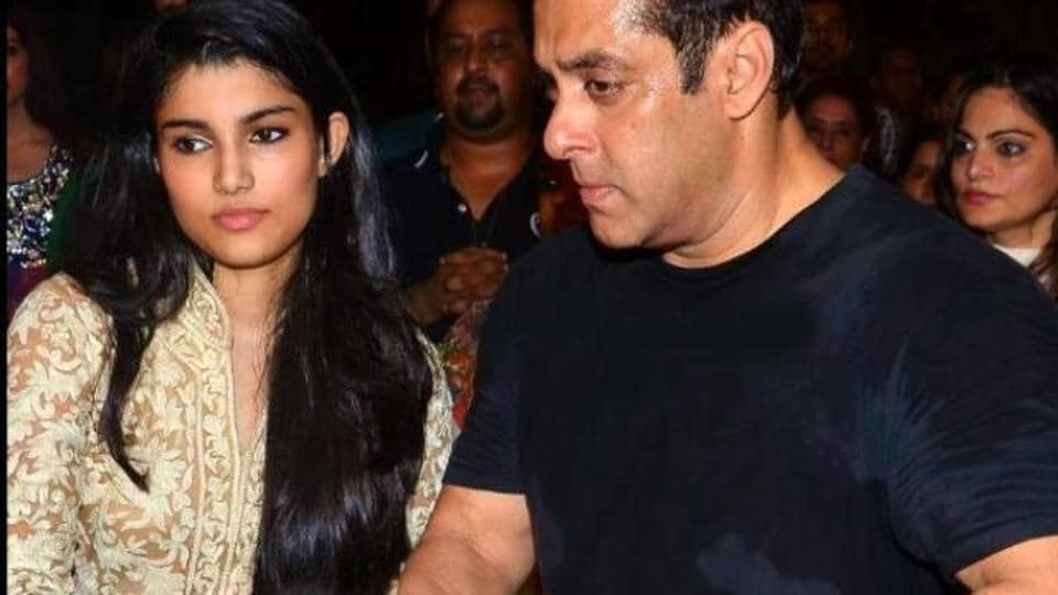 Alizeh Agnihotri may soon make her Bollywood debut with uncle Salman's help.