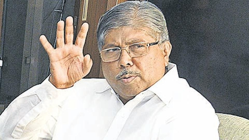 Chandrakant Patil said he entered the state cabinet by accident and has decided not to contest any election.