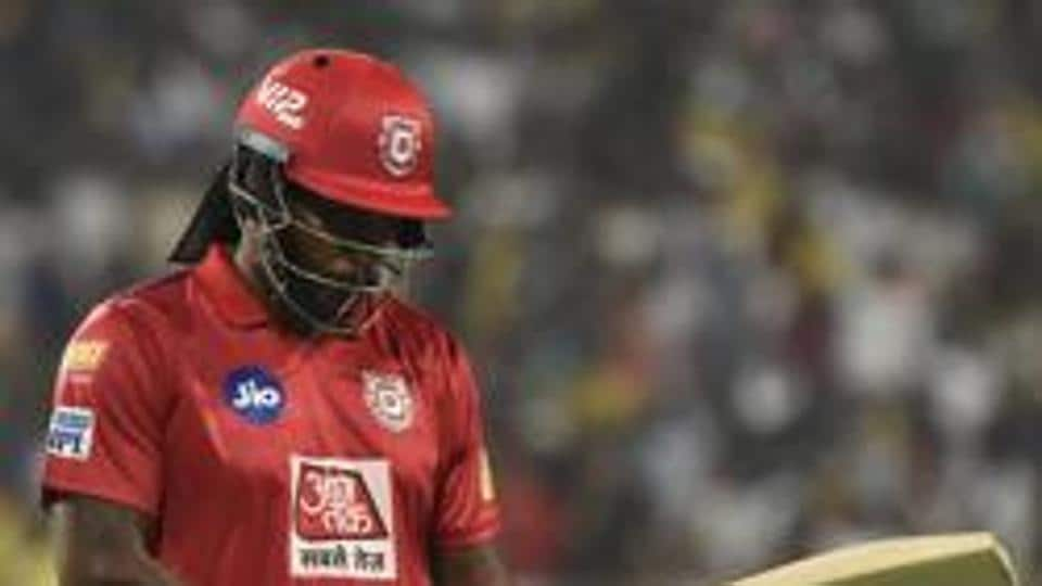 File image of KXIP cricketer Chris Gayle