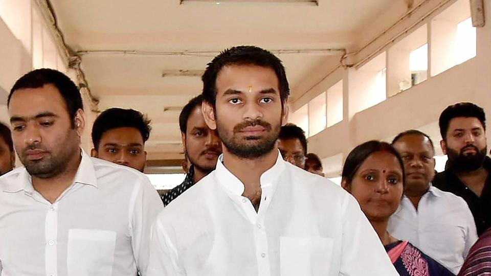 Tej Pratap has been in a rebellious mood after his demand to field his chosen candidates in a couple of seats was ignored by the party.