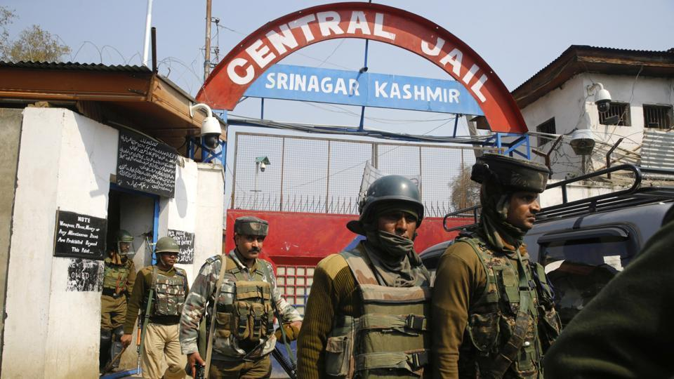 Two inmates were injured in high security Central Jail here after police took action against
