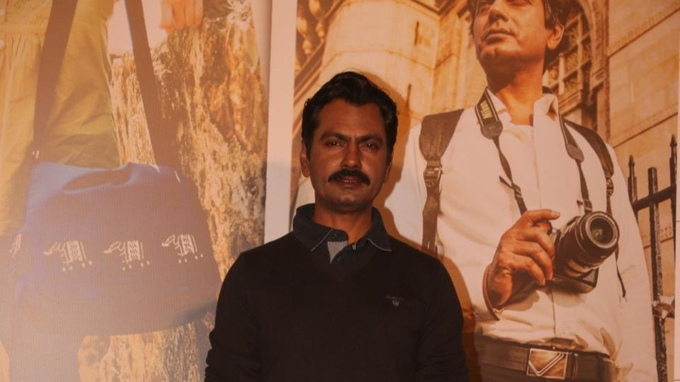 Actor Nawazuddin Siddiqui during a programme organsied to launch