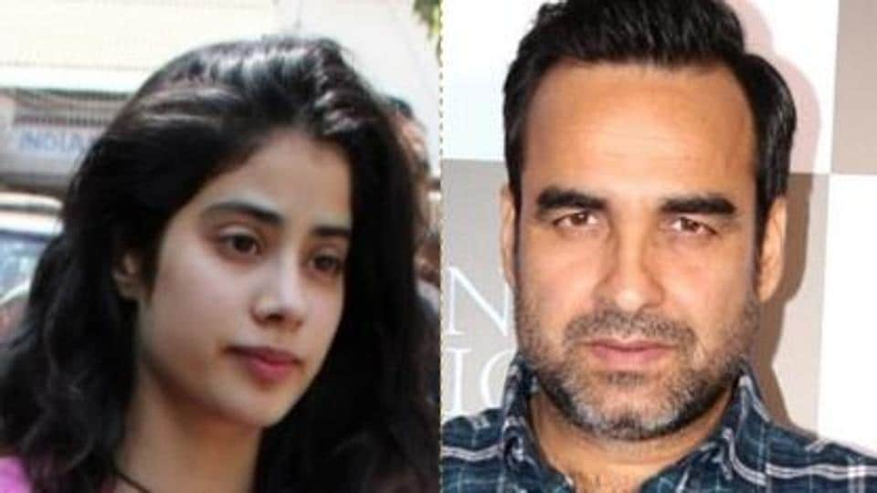 Janhvi Kapoor has revealed a conversation  she had with Pankaj Tripathi at a party where she called him an icecream.