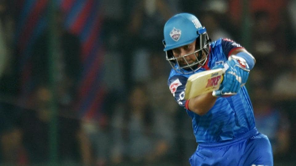 Prithvi Shaw in action.