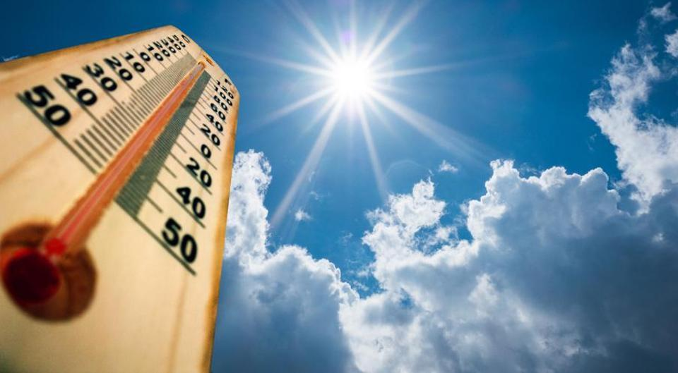 The city recorded 37.8 degrees Celsius on Friday, as compared to 40.5 degrees Celsius, on Thursday.