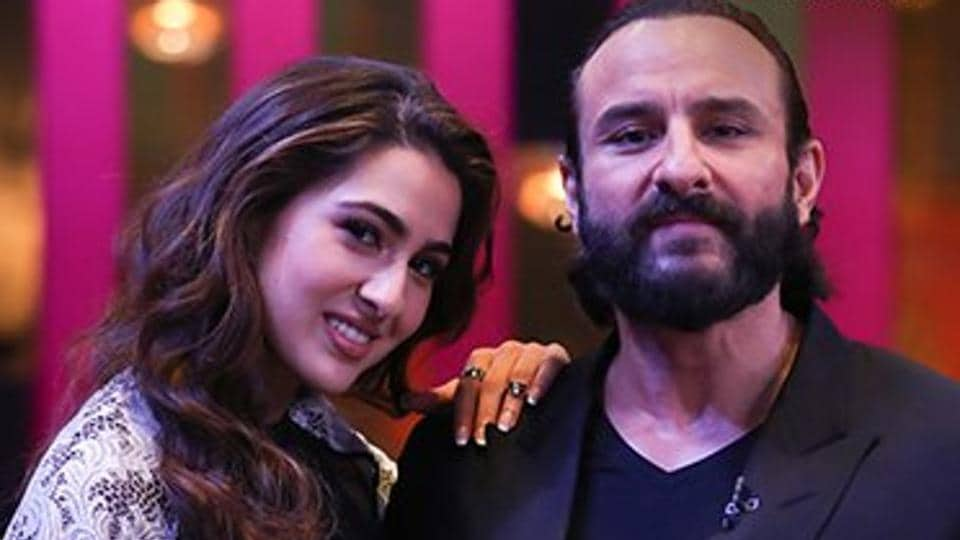 Saif Ali Khan,Sara Ali Khan,Imtiaz Ali