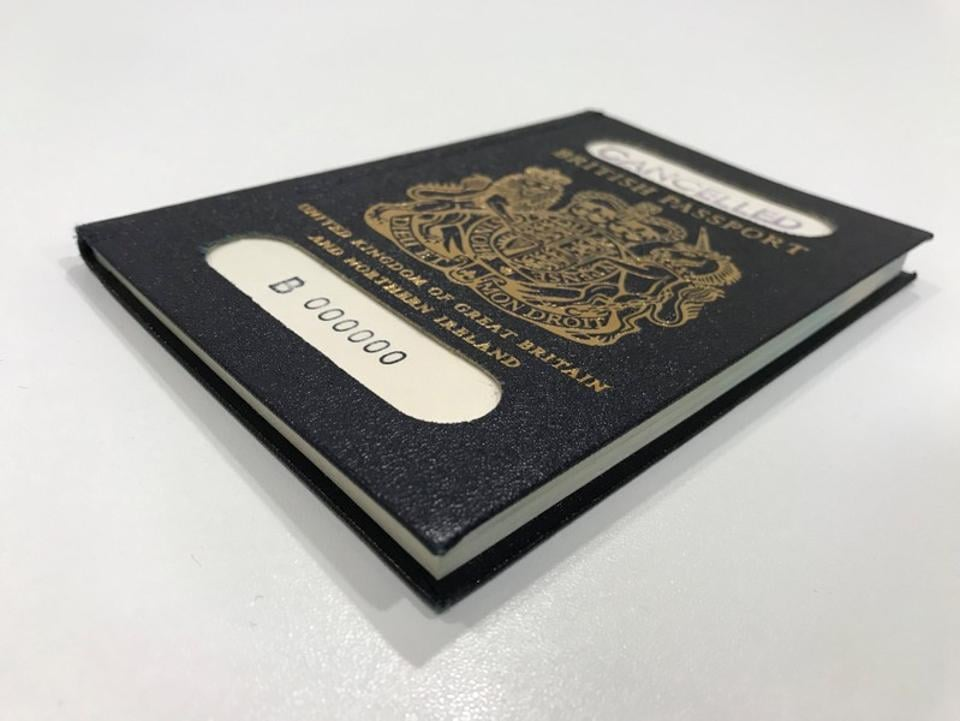 "Britain has begun issuing passports with the words ""European Union"" removed from the front cover -- despite Brexit being delayed and its political leaders deadlocked over how to extricate the country from the bloc."