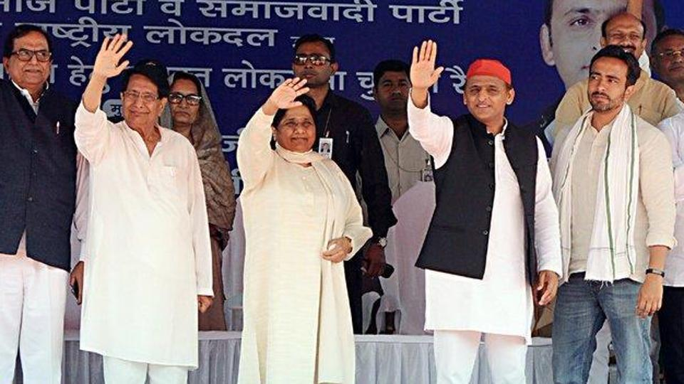 """Mayawati continued with her tirade against BJP and Congress. """"If the PM (Narendra Modi) was serious about the welfare of poor, they (the government) would not have been inaugurating schemes after polls were announced. They would have performed during their tenure."""