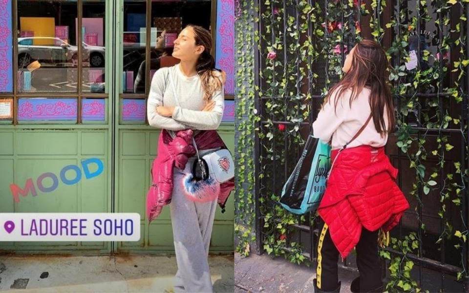 Sara Ali Khan shared her pictures from her New York vacation.