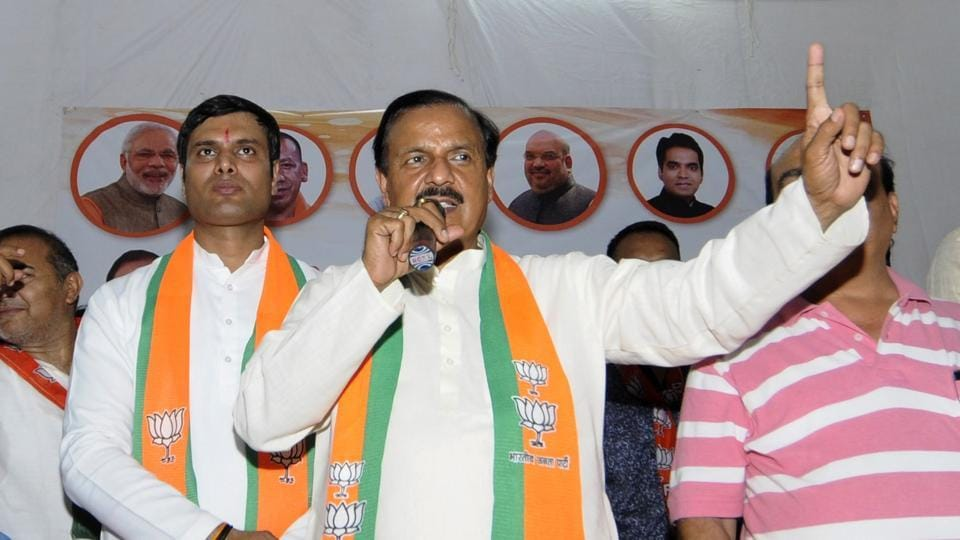 The biggest challenge for BJP's Gautam Budh Nagar candidate Dr Mahesh Sharma is to deal with anti-incumbency.