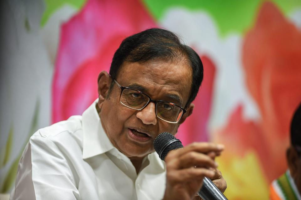 'People will vote for country where the mind is without fear': Chidambaram