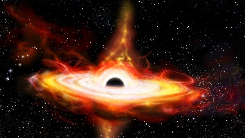 The World's First Photo of a Black Hole