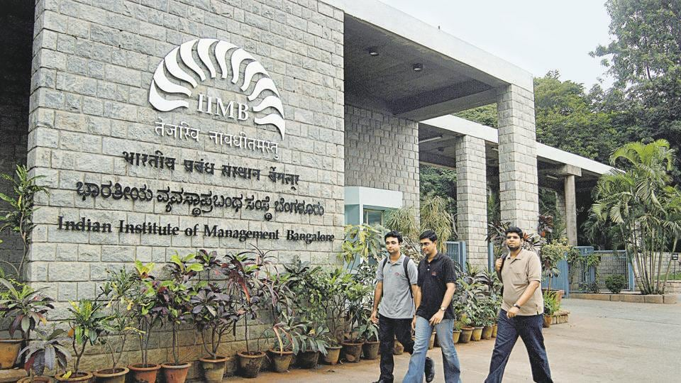 Indian Institute of Management Bangalore (IIM-B) has topped the list of management institutes in the county, in the National Institutional Ranking Framework list for the best institutes of 2019 released by the Ministry of Human Resource Development.