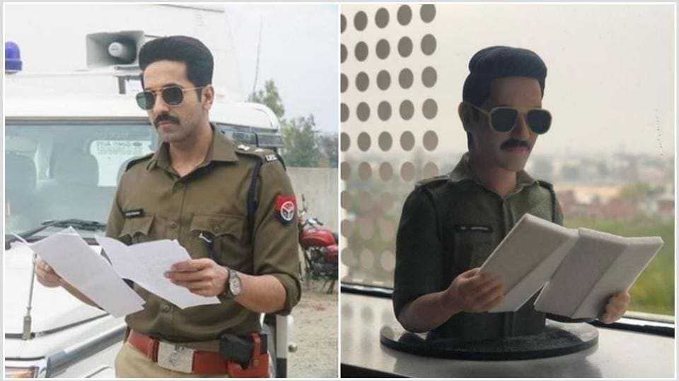 Ayushmann Khurrana got a special gift from director Anubhav Sinha on completing the shoot for Article 15.