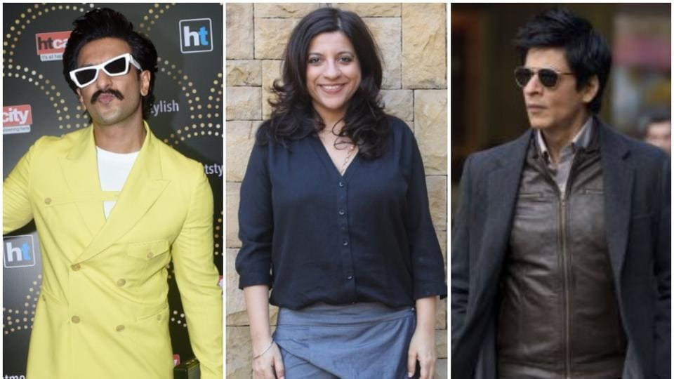Zoya Akhtar and Ranveer Singh have worked in two films together while ShahRukh Khan has starred in Excel Entertainment's Don and Don 2.