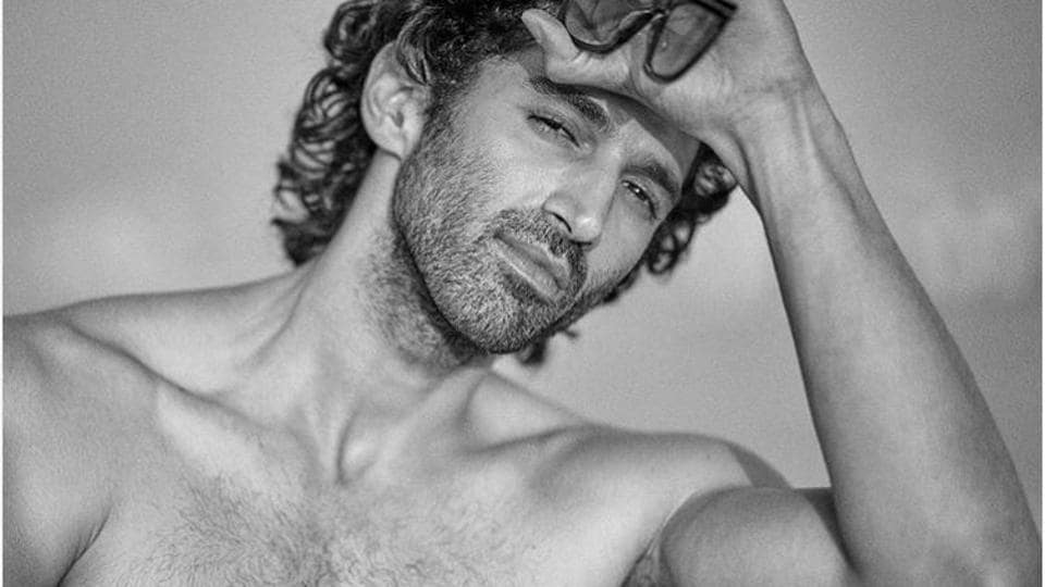 Aditya Roy Kapur shared a shirtless picture on his Instagram account.