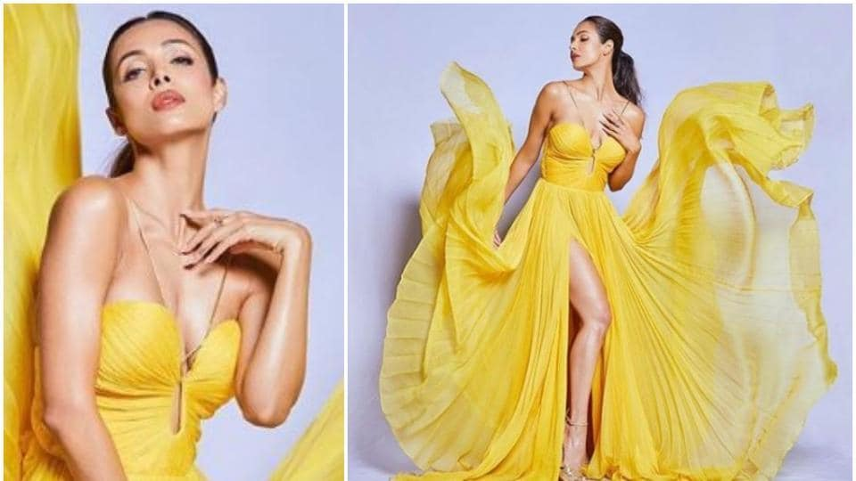 Malaika Arora has done a new photo shoot and looks glamorous.