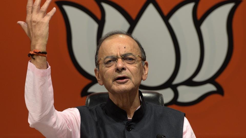 Union Finance Minister and BJP leader Arun Jaitley has hit out at the Congress for crying foul over income tax raids in Karnataka and Madhya Pradesh in recent past.