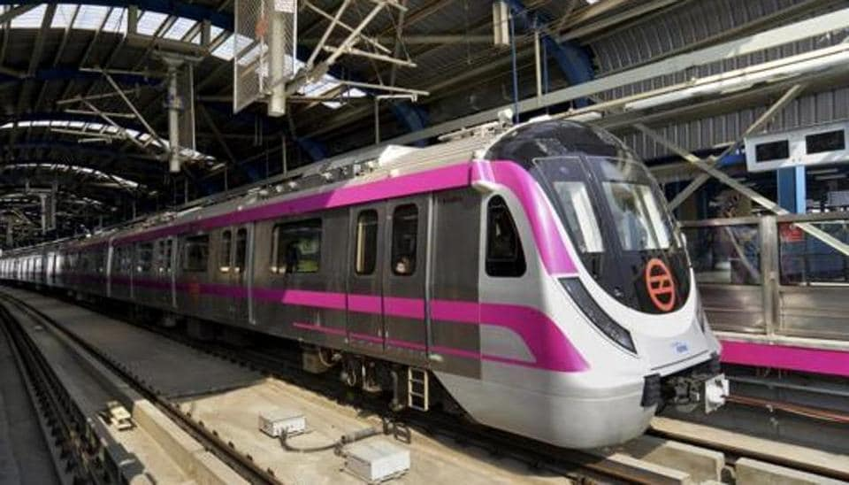 From July, the Delhi Metro Rail Corporation (DMRC) expects to open the 370-metre subway that will connect the Magenta Line metro gate to the arrival and departure areas of the airport.